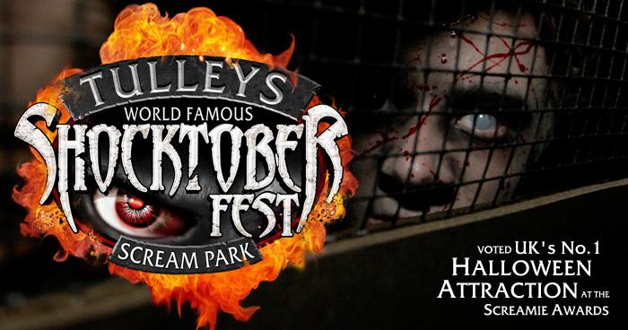 Tulleys Shocktober Fest - the UK's No.1 Halloween Attraction